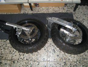 Scrambler Umbau-Kit für Harley Davidson Sportster 883/1200